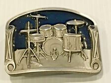 Drum set.belt buckle