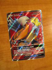 NM FULL ART Pokemon ENTEI GX Card SHINING LEGENDS Set 71/73 Sun Moon Ultra Rare