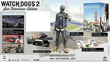 OHNE SPIEL Watch Dogs 2 Inhalt der San Francisco Collectors Edition Marcus Figur