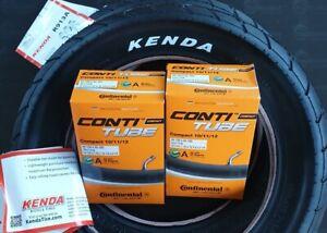 2 x Kenda Reifen 57-203 R-913A (12 1/2 x 2 1/4) mit Continental Schlauch