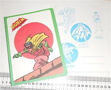 BATMAN ROBIN  1979 Dc Comics Cisa italy notebook school - quaderno scuola mint