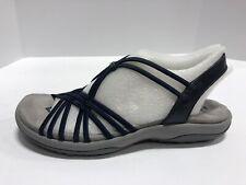Skechers Spliced Navy Strappy Sandals Women's Size 7M 41062/NVY