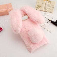 Funda Samsung Galaxy S8 peluche pelo conejo con orejas