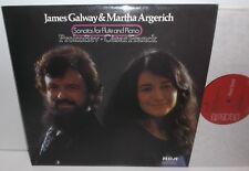 LRL1 5095 Prokofiev Franck  Flute & Piano Sonatas James Galway Martha Argerich