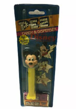 Vintage Mickey Mouse Pez Dispenser  New On Original Card. Walt Disney Mickey Pez