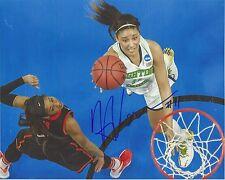 Natalie Achonwa Signed 8 x 10 Photo Wnba Basketball Notre Dame Free Ship Fever