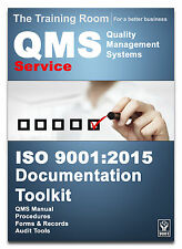 ISO 9001:2015 QMS DOCUMENTATION TOOL KIT