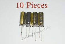 10x Capacitor Rubycon 3300uF 6.3v 105C 10x25mm. Radial. US Seller