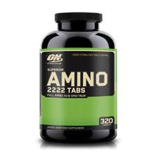 Optimum Nutrition Superior Amino 2222, essentielle Aminosäuren, BCAA`s, 320 Tabs