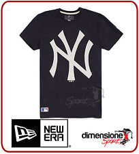 T-SHIRT NEW ERA MAGLIETTA NY NEW YORK YANKEES MLB BLU UOMO TG. XS MAN LOGO TEE