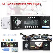"4.1"" 1Din Car MP5 Player Audio Stereo Bluetooth USB AUX FM Radio Remote Control"