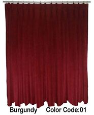 Saaria Pinch Pleated Curtains Home Decor Theater & Stage Backdrops 22'W x 10'H