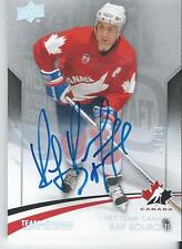 2015-16 UD Team Canada Master Collection Autograph RAY BOURQUE #45 08/10
