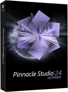 PINNACLE STUDIO 24 ULTIMATE VIDEO EDITING SOFTWARE