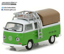 Greenlight 1:64 Club V-Dub 5 1971 VW Type 2 Double Cab Pickup Roof Rack Canopy