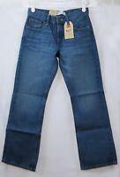 Levi's 527 Jeans Boys Size 12REG W26XL26 Boot Cut Medium Wash Zip Fly