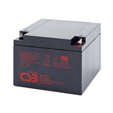 GP12260 BATTERY CSB 12V 26AH - SIZE (mm) 165x175x127 - CART COURSE