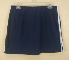 Nike Skirt Size Large Blue White Athletic Stretch Above Knee Golf Tennis