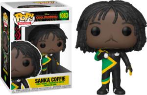 """COOL RUNNINGS SANKA COFFIE 3.75"""" POP MOVIES VINYL FIGURE FUNKO 1083"""