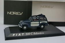 Norev 1/43 - Fiat 500 C Belvedere