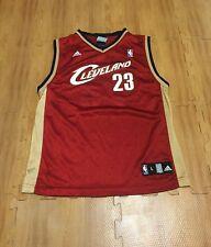 f93376bf8741 Cleveland Cavaliers LeBron James  23 NBA Basketball Youth Large Reebok  Jersey