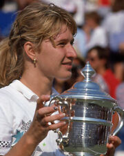 1988 Tennis Champion STEFFI GRAF Glossy 8x10 Photo Print WINNER Poster