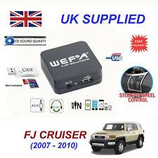FJ CRUISER MP3 SD USB CD AUX Input Audio Adapter Digital CD Changer Module