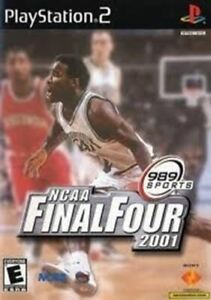 NCAA Final Four 2001 - Authentic Sony PlayStation 2 Game