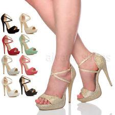 Sandali e scarpe slim sera per il mare da donna