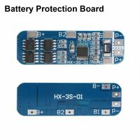 3S 12V Lithium 18650 Battery Cell BMS Charger PCB Protection Board 10A Li-ion.