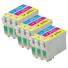 9 C/M/Y Cartucce d'Inchiostro per Epson Stylus DX4000 DX7450 SX200 SX415