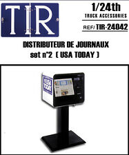 DISTRIBUTEUR DE JOURNAUX U.S. #2 AU 1/24 1/25 ACCESSOIRE EN RESINE POUR DIORAMA