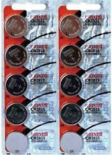 CR 2025 MAXELL LITHIUM BATTERIES (10 piece) 3V watch New Authorized Seller