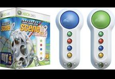 Xbox 360 Scene It? The Movie Trivia Game With 4 Controller Bundle Pack