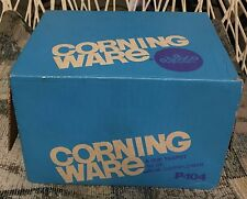 Vintage Corning Ware 6-Cup Blue Cornflower Teapot unused in opened box