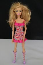 MATTEL BARBIE DOLL WITH AUTHENTIC BARBIE DRESS AND SHOES