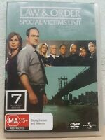 Law And Order SVU - Special Victims Unit Season 7 DVD - Series Seven Seventh R4