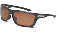 Zeal Takeoff Polarized Sunglasses Matte Gray/Copper 10045 Adjustable MyFit