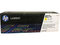 HP CF302A (827A) Yellow Toner 32k M880 Genuine OEM Retail Box Quick Ship!