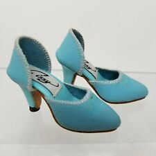 Madame Alexander Cissy Doll Fancy Pair of  High Heels Shoes Blue