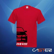 Camiseta coche rally racing basado mitsubishi lancer evo 8 VIII ENVIO 24/48h