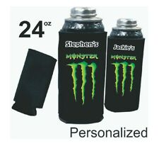 Monster Energy Drink 24oz Can cooler - Personalized, Monster Can coolie