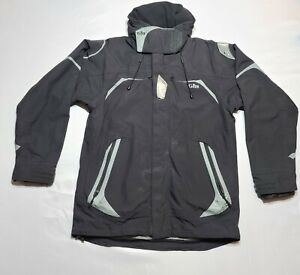 Gill OS2 Offshore Coastal Sailing Mens Jacket L Large Black Waterproof Hooded