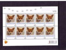 Nederland NVPH 3013 Vel Persoonlijke zegel Vos 2013 Postfris