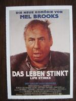 Filmplakatkarte / moviepostercard  Das Leben stinkt  Mel Brooks