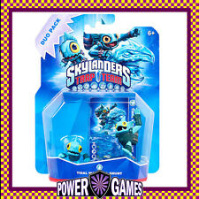 Skylanders Trap Team Tidal Wave Gill Grunt & Gill Runt for PS3/PS4/Wii/Xbox BN