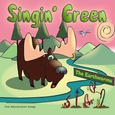 Free Us Ship. on Any 3+ Cds! ~Used,Good Cd Earthworms: Singin' Green