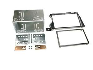 Kit Support autoradio compatible avec Ssangyong Actyon Kyron Noir