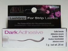 Ardell LashGrip Adhesive STRIP Lash Eyelash Glue DARK  0.25OZ