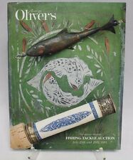 Oliver's FISHING Tackle AUCTION July 25th and 26th 1991